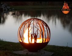 35 metal fire pit designs and outdoor setting ideas - 35 metal fire pit designs and outdoor setting ideas Informations About 35 Metall Feuerstelle - Metal Fire Pit, Diy Fire Pit, Fire Pit Backyard, Backyard Seating, Fire Pit Sphere, Fire Pit Gallery, Custom Fire Pit, Outside Fire Pits, Fire Pit Materials