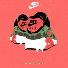 "Nike Air Max 90 ""Duck Camo"" (Illustration)"