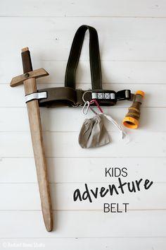 Free tutorial for a Make Believe Kids Adventure Belt | Radiant Home Studio