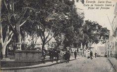 Plaza El Príncipe.Principios de 1900.Santa Cruz