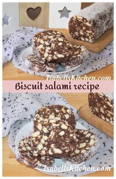 Easy No Bake Desserts, Dessert Recipes, Brunch Recipes, Salami Recipes, Healthy Recipes, Ingredients For Biscuits, How To Make Biscuits, Trifle Pudding, Homemade Snickers