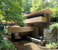 Wright, Frank Lloyd: Fallingwater, Mill Run, Pennsylvania, USA