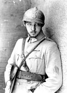 Rudolph Valentino as WWI French solider Julio in Four Horsemen of the Apocalypse.