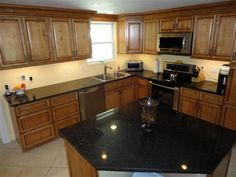 """KCK kitchen cabinets - A testimonial submitted by VIRGINIA STEVENS: """"They look fabulous and we really love them!!"""""""
