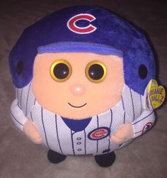 Chicago Cubs Ty Beanie Ballz Official MLB Product Plush  | eBay