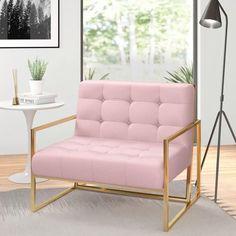 Home Office Decor, Diy Home Decor, Pink Office Decor, Gold Home Decor, Office Ideas, My Living Room, Living Room Decor, Room Ideas Bedroom, Pink Bedroom Decor