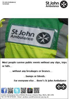 St John Ambulance First Aid poster - Mastercard