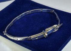 Vintage Armschmuck - Armband Gliederarmband Silber 925 60er Jahre SA194 - ein Designerstück von Atelier-Regina bei DaWanda
