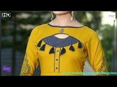 Latest And Stylish Kurti Neck Design Cutting And Stitching, Very Beautiful Neck Design for Kurti Kurti Back Neck Designs, Chudi Neck Designs, Churidar Neck Designs, Kurta Neck Design, Dress Neck Designs, Kurta Designs, Saree Blouse Designs, Latest Kurti Designs, Stylish Kurtis Design