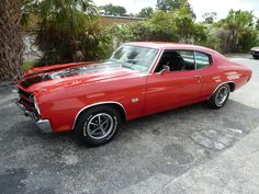 1970 Chevrolet Chevelle 396 CID Mtr Southern Car www.moremusclecars.com