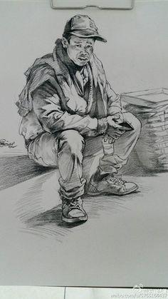 to drawing fox Human Figure Sketches, Human Sketch, Figure Sketching, Figure Drawing, Realistic Drawings, Art Drawings Sketches, Amazing Drawings, Cool Drawings, Pencil Drawings