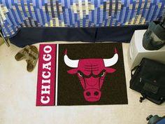 """NBA - Chicago Bulls Starter Mat 19"""""""" X 30"""""""""""