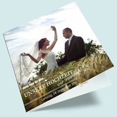 Bohemian Foto-Dankeskarten zur Hochzeit online gestalten. Do it yourself Danksagung zur Hochzeit