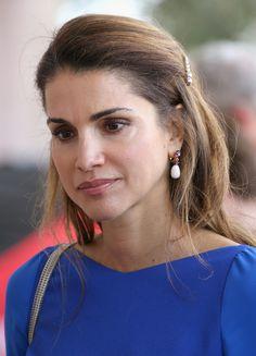 Primer plano de la Reina Rania