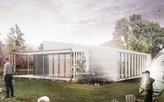 Upcycle House, materiali riciclati ed emissioni zero #alchimag #ecosostenibile #upcyclehouse