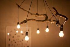 La lámpara de las ramas.