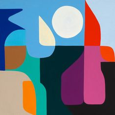 Stephen Ormandy Space Race Oil on linen 2015 Marimekko, London Art Fair, African Art Paintings, Geometric Painting, Funky Art, Painting Collage, Elements Of Art, Art Sketchbook, Paper Art