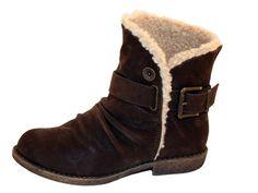 Vegan Shoes & Bags: Alps Winter Bootie by Blowfish in Brown