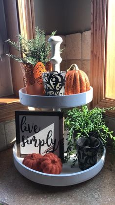 """""""Boo"""" Sign instead Fall Home Decor, Autumn Home, Fall Apartment Decor, Modern Fall Decor, Seasonal Decor, Holiday Decor, Thanksgiving Decorations, Galvanized Tray, Tiered Stand"""