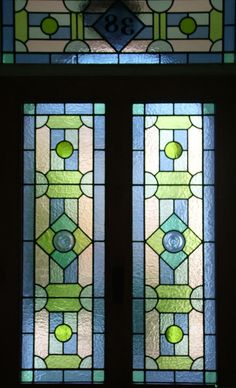 stained glass front door - Google Search