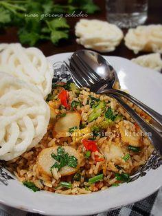 nasi goreng seledri