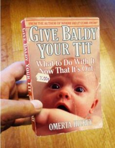 Don't ask me if this is a real book title cuz I don't know.....