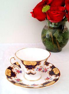 Vintage English Fine Bone China Rosina Tea by MRMSecondTimeAround