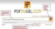 Cómo guardar una página web en PDF.-