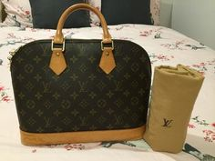 Louis Vuitton Monogram Alma PM Bag | Lollipuff