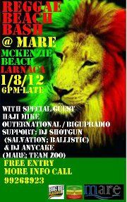 REGGAE BEACH BASH @ Bar