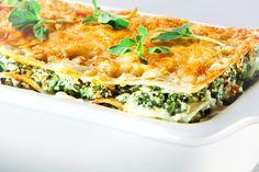 Lasanha de espinafre deixa o almoço nutritivo - Vivo Mais Saudável