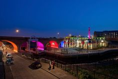 philips lighting uses LED technology at the toffee factory - designboom   architecture