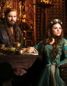 Rollo and Gisla #vikings