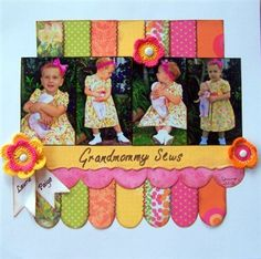 Grandmommy Sews - Club CK - The Online Community and Scrapbook Club from Creating Keepsakes