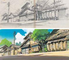 Kazuo Oga (男鹿 和雄) Studio Ghibli (スタジオジブリ)