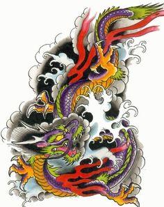 dragão celestial tattoo - Pesquisa Google