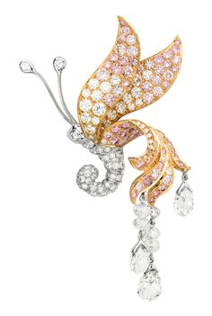 Van Cleef & Arpels, tourmaline and black, white and pink diamond