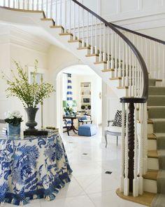 Chinoiserie Chic: The Chinoiserie Foyer
