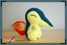 Cyndaquil - Pokemon - Crochet Pattern - Amigurumi