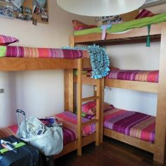 Best White Wooden Three Level Bunk Beds For Small Rooms And 400 x 300