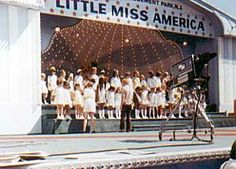 Little Miss America Pageant 1960's  at Palisades Amusement Park  (for Lori)