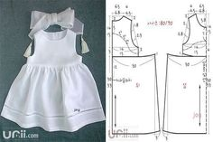 Baby Robes – Baby and Toddler Clothing and Accesories Baby Girl Dress Patterns, Baby Dress Design, Baby Clothes Patterns, Sewing Patterns For Kids, Dress Sewing Patterns, Girls Dresses Sewing, Baby Girl Dresses, Baby Outfits, Kids Outfits