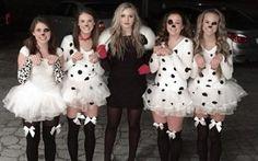 Dalmatiner Kostüm selber machen