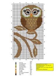 Cross Stitch Owl, Cross Stitch For Kids, Just Cross Stitch, Cross Stitch Finishing, Cross Stitch Animals, Cross Stitch Charts, Cross Stitch Designs, Cross Stitching, Cross Stitch Embroidery