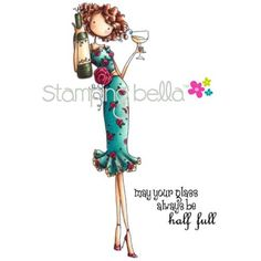 Stamping Bella Cling Rubber Stamp Uptown Girl Opal The OptimistStamping Bella Cling Rubber Stamp Uptown Girl Opal The Optimist,