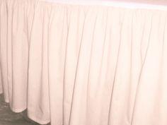 Pink Nude Dustruffle Bedskirt Full/Double Size