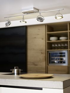 LED spot luminaire OROTELLI Office Lighting, Track Lighting, Ceiling Lights, Led, Interior, Lightning, Apartments, Home Decor, Steel