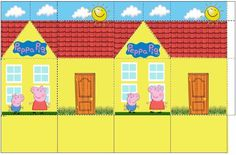 Milk box da Peppa Pig eppa This halloween can be a favourite pre-school occasion themes, George Pig, Peppa E George, Fiestas Peppa Pig, Cumple Peppa Pig, Peppa Pig House, Peppa Pig Printables, Pig Birthday Cakes, Milk Box, Halloween Cans