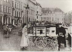Københavnske kvinders kaffevogn ca.1910 - postkort.