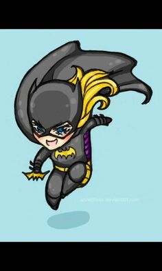 Cute little Batgirl